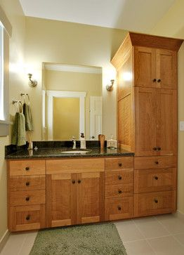Craftsman style Bathroom  Seattle - Ventana Construction LLC   Vanity Style Master bath</p> <span style=