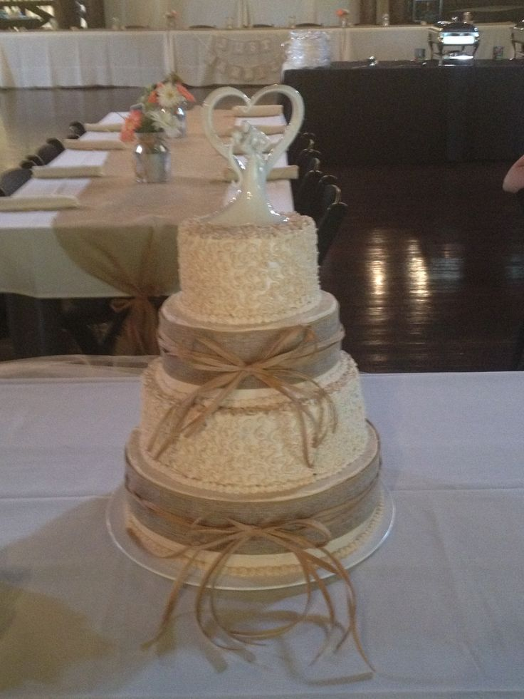 Simple Wedding Cake Design Images : Wedding cake simple design Country wedding Pinterest