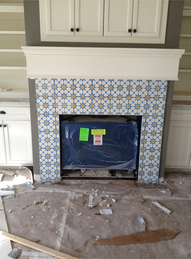 projects moroccan tile fireplace paloma interior design