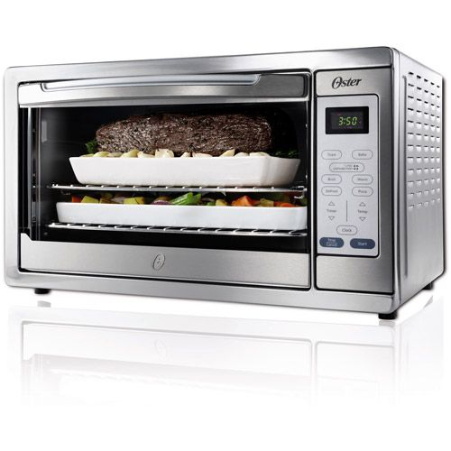 Large Countertop Oven Walmart : Oster Design For Life Extra-Large Convection Toaster Oven