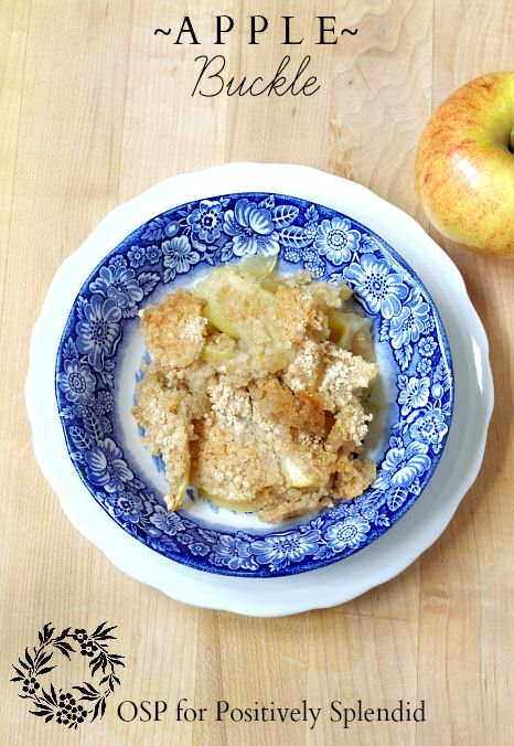 Apple Buckle Recipe #desserts