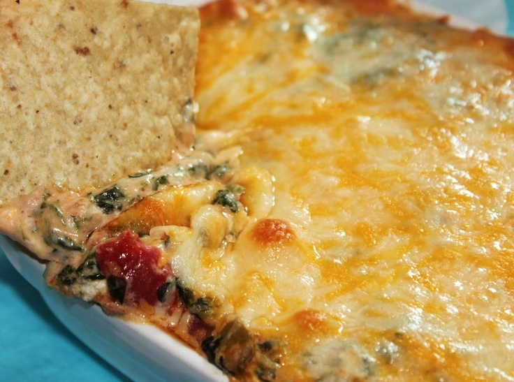 Hot Mexican Spinach Dip | Cheese love | Pinterest