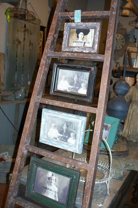 old ladder repurposed garden pinterest
