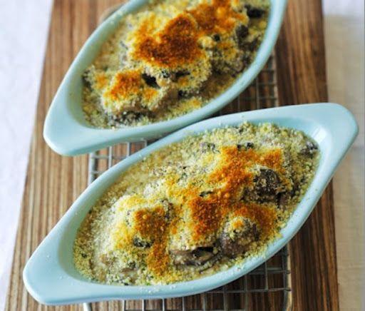 Foraged Mushroom Gratin Recipe on Yummly | Side Dishes | Pinterest