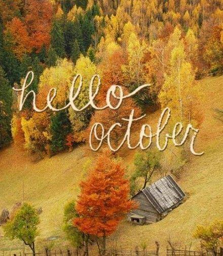 Hello October  Birth Month  Pinterest
