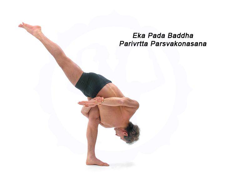 Eka Pada Baddha Parivrtta ParsvakonasanaParivrtta Parsvakonasana