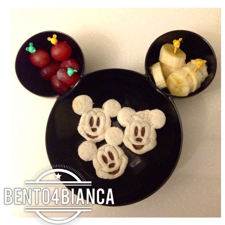 Mickey Mouse bento | Bento Boxes and Food Art | Pinterest