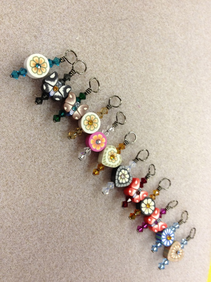 Using Stitch Markers In Knitting : stitch markers Knit & Crochet Pinterest
