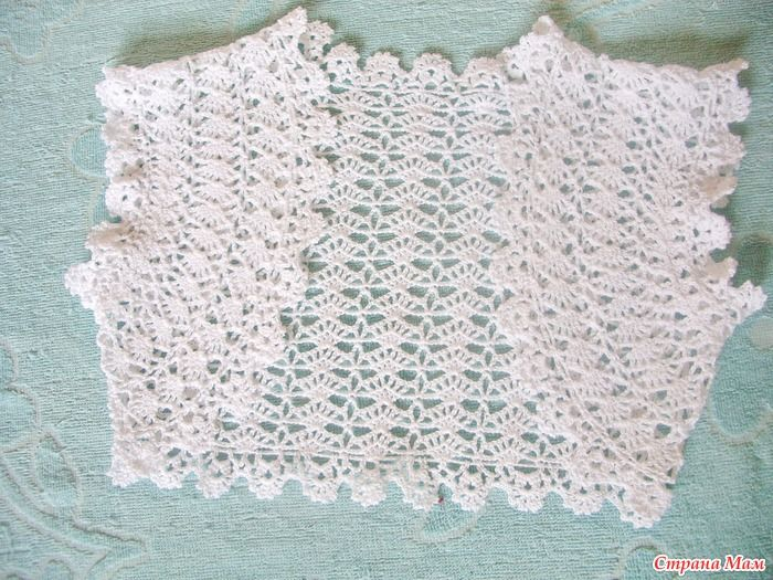 bolero for girl - diagram crocheted kids clothes ...