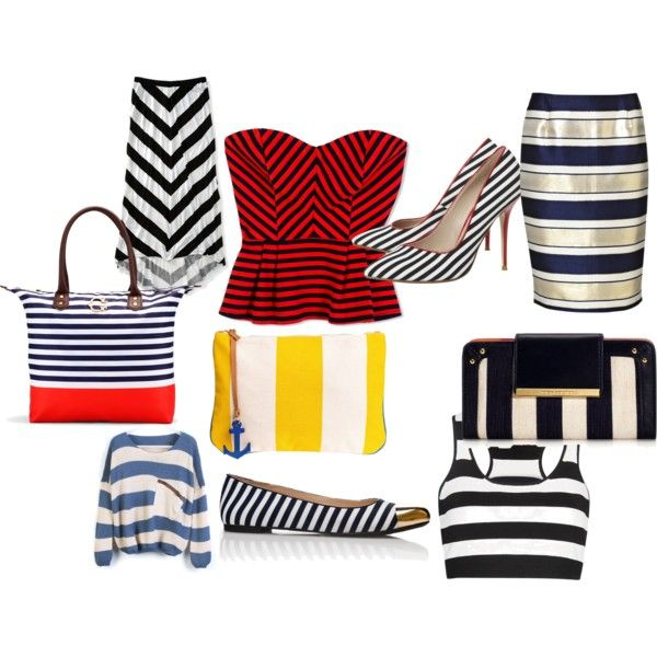 MONDAY STYLIST: Stripes Everywhere