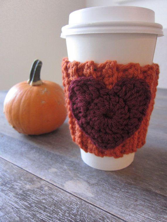 Pumpkin Spice Latte Inspired Crochet Coffee by CrochetaLaMae