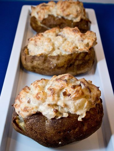 Cheesy Bacon Twice Baked Potatoes - Cooking with Mel - Cooking with ...