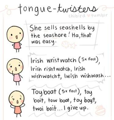 Tongue Twisters, Advanced English Pronunciation Practice