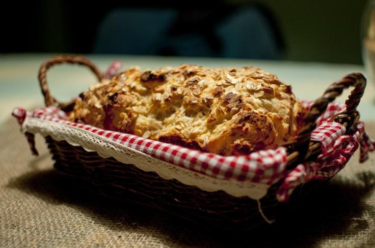 gluten free honey oat bread savory senses www.savorysenses.com kaitlyn ...
