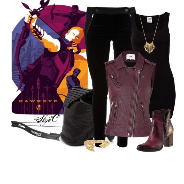 """Hawkeye - Clint Barton - Marvel's Avengers"" by rubytyra on Polyvore"