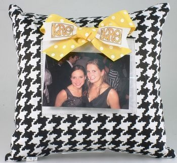 Theta Photo Pillow Fun