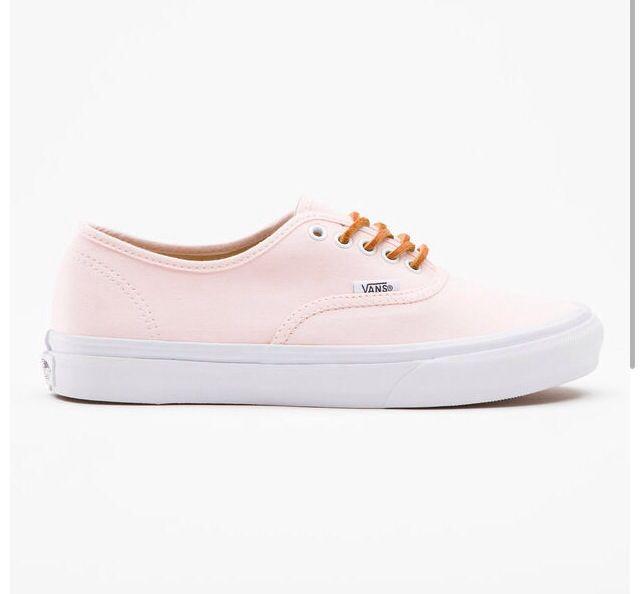 Light peach colored Vans | My fave color | Pinterest