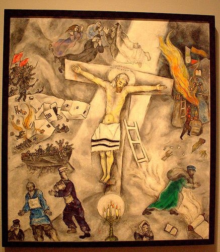 Pin by Kristina Sims on The Bible/Christian Sayings ... Chagall Crucifixion