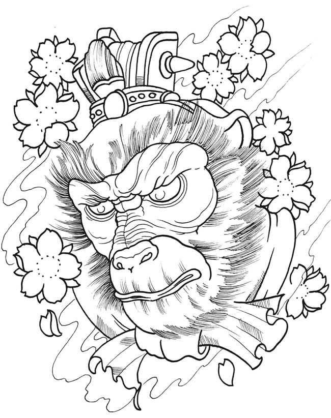 Tattoo Artist Coloring Pages Coloring Pages
