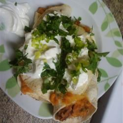 addictive sweet potato burritos. | Foods to try | Pinterest