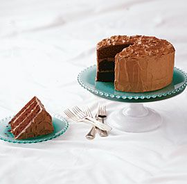 Chocolate Layer Cake with Mocha Milk Chocolate Frosting | Recipe