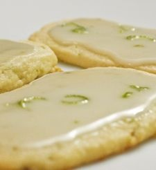 Lime Glazed Cookies mmmmm | My bakers heart! | Pinterest
