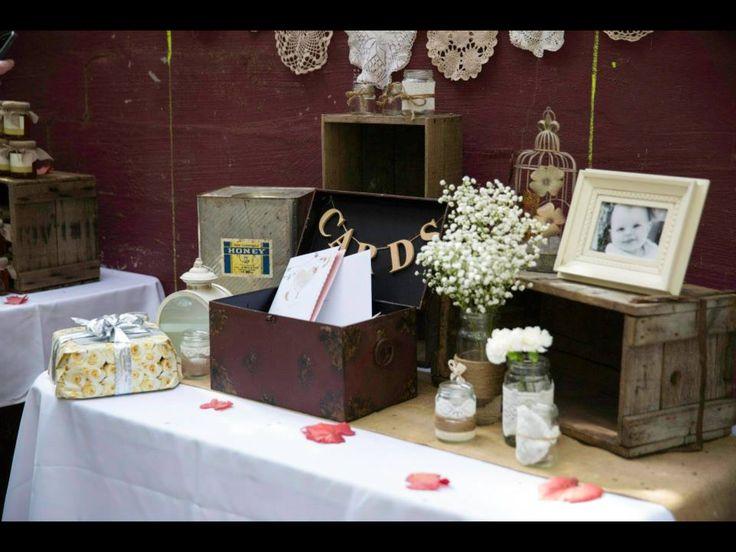 Wedding Present Table Pinterest : Gift table