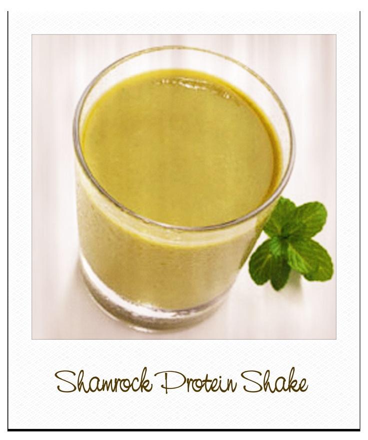 Shamrock Protein Milkshake Recipes — Dishmaps