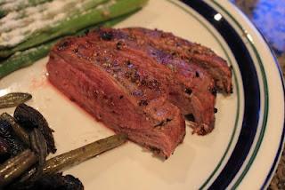 Caribbean Grilled Flank Steak - great seasoning. Do not overcook!