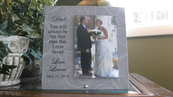 Unique Wedding Gift For Daughter : ... DAUGHTER wedding gift, Father of the Bride gift, personalized