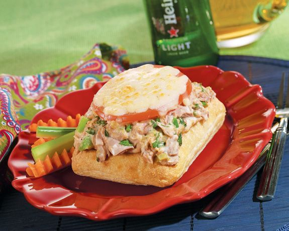 kicked up tuna melts modified recipe key ingredient emeril s kicked up ...