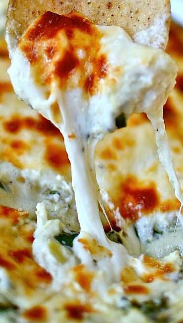 The Best Spinach Artichoke Dip Ever | recipes | Pinterest