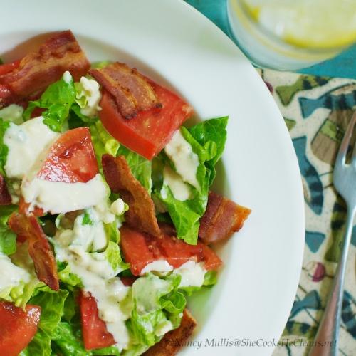 BLT Salad | Foodies | Pinterest