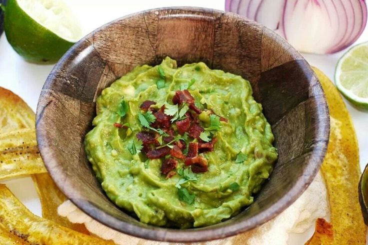 Bacon guacamole | FOOD/APPETIZER | Pinterest