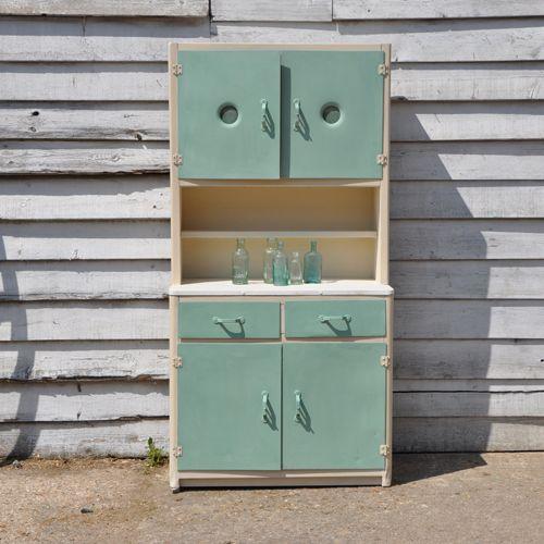 1950 39 s retro kitchen larder unit for the home pinterest for Vintage kitchen units uk