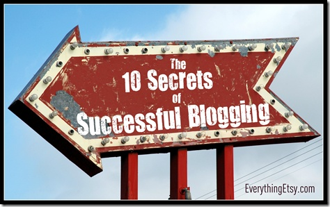 Great tips, especially if you haven't started your blog yet.