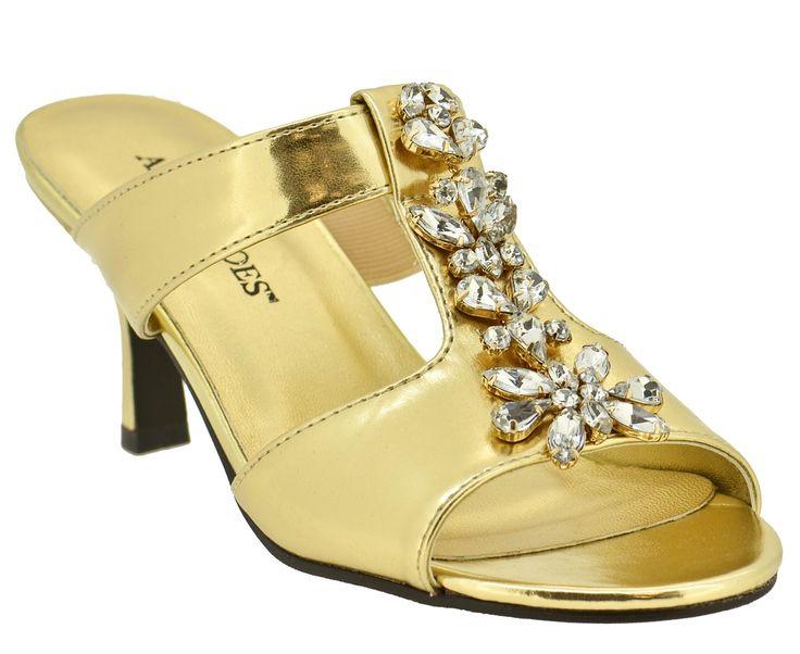 Dressy Slide Sandals For Women