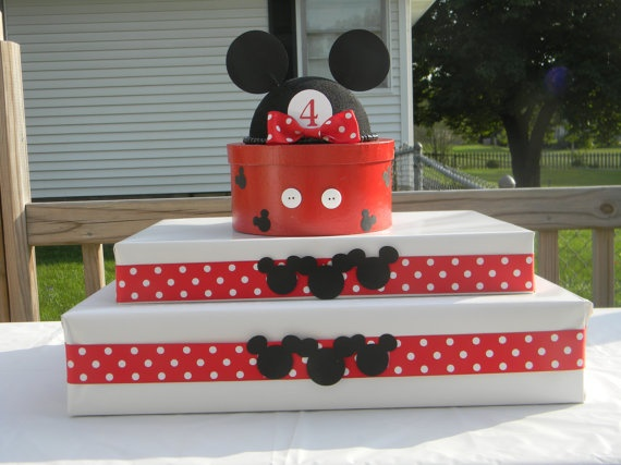 Simple idea for a cake or cupcake stand!