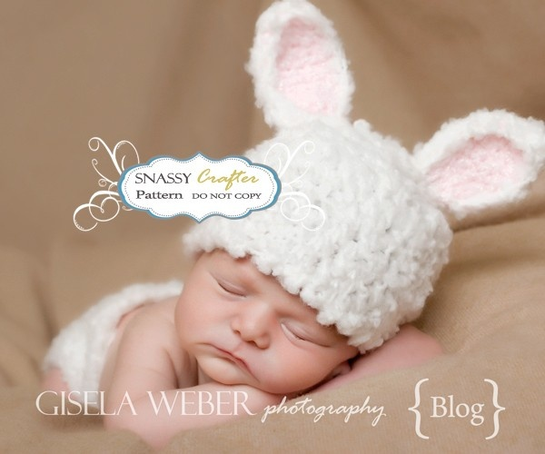 Free Crochet Bunny Hat Pattern For Baby : Crochet Baby BUNNY Hat Pattern Crochet Pinterest