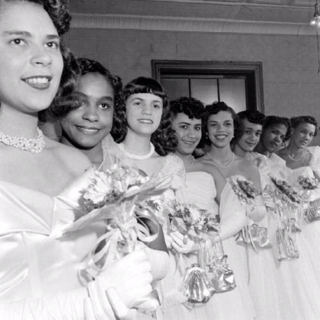 Harlem Debutantes in the 1950s. My great aunts came out here in the 1960s.