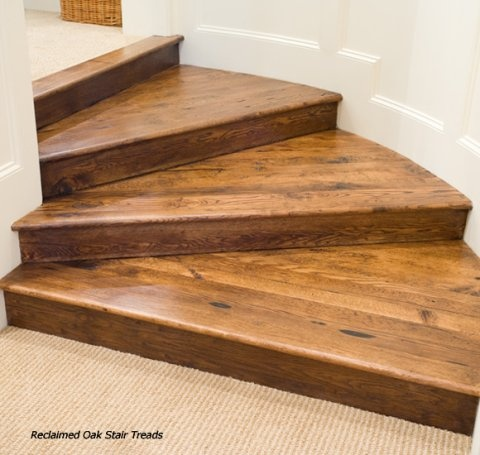 Best Stair Treads Reclaimed Wood Mas Pinterest 400 x 300