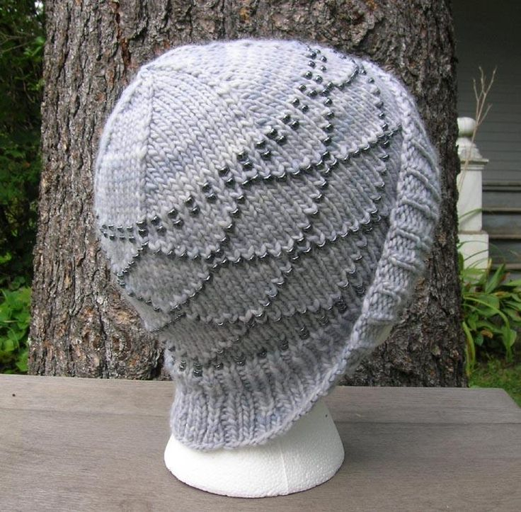 knitting patterns with beads Knitting/Sewing Pinterest
