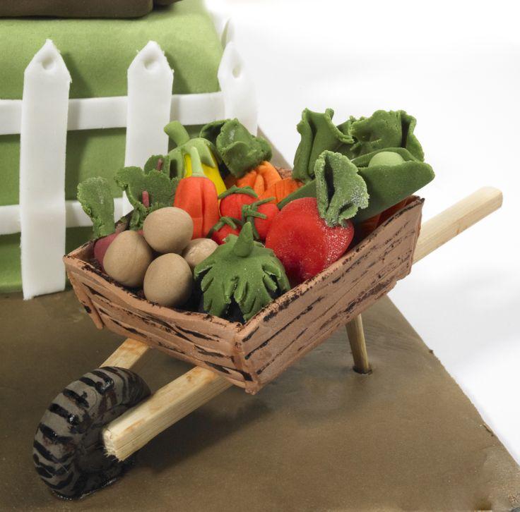 Vegetable Garden Cake Ideas Photograph | Vegetable Gardening