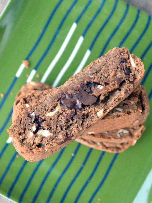 Gluten Free Chocolate Almond Biscotti | Recipe