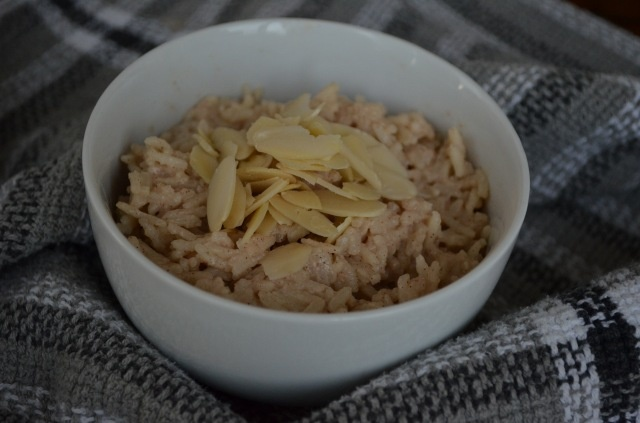 Rice Pudding (w/almond milk) | Vegan Cooking | Pinterest