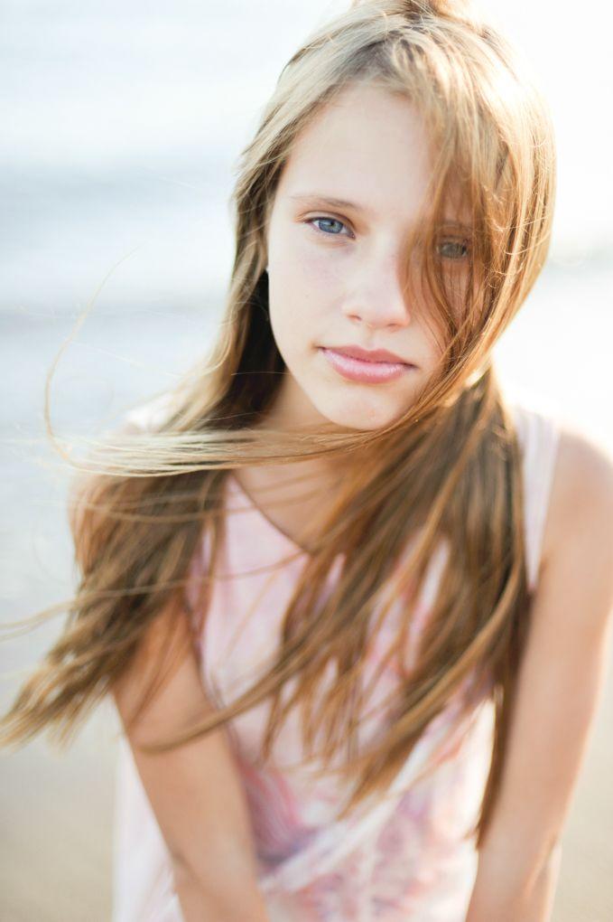 photo model shoot Young girl teen