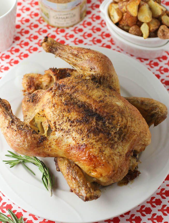 Lemon-Rosemary Roast Chicken | Health | Pinterest