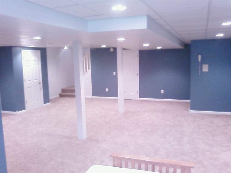basement basement refinishing pretty color