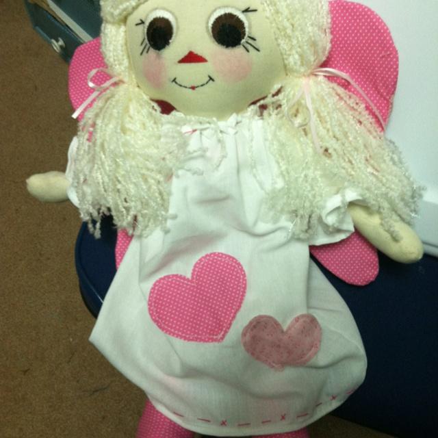 Doll w/angel wings