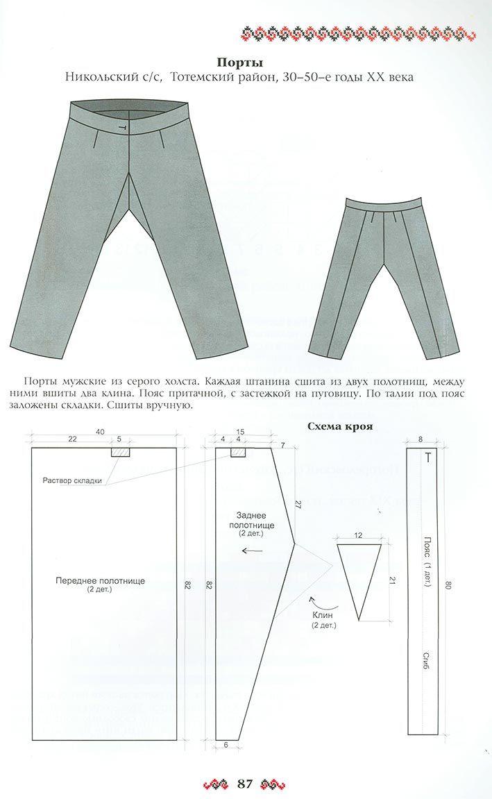 Как сшить костюм брюки 84